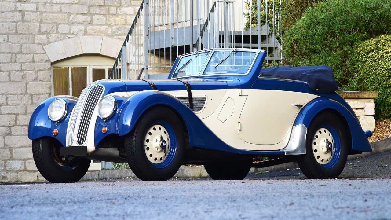 BMW 328, l'hommage à la star