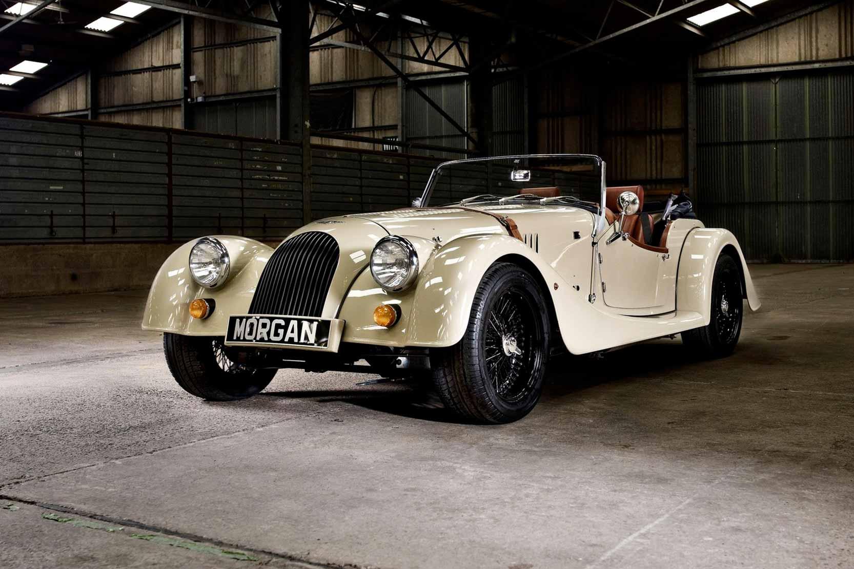 La Morgan Roadster, une voiture à l'ancienne