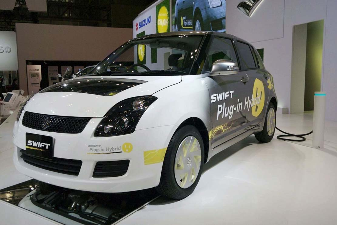 Suzuki Swift Plug-in un véhicule hybride plutôt intelligent !