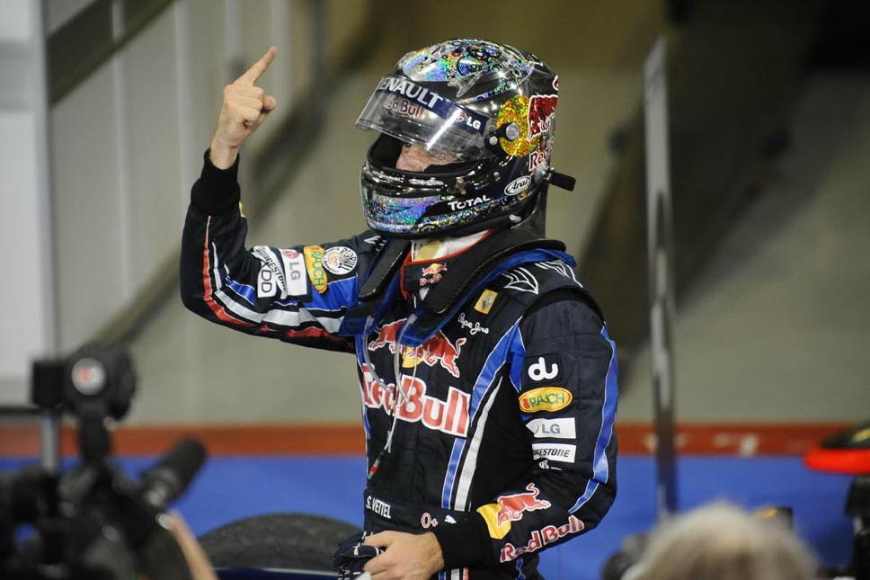 Championnat du Monde 2010 de Formule 1 : défaite de la Ferrari, Vettel champion du monde
