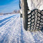 pneus hiver sur la neige